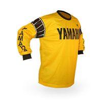 dh desgaste venda por atacado-Nova motocicleta de corrida de manga longa t-shirt para yamaha racing wear preto jersey motocross dh mx equitação rápida y