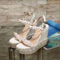 ausgeschnittene schnürschuhe großhandel-2018 Rome Style Ausschnitte Slingback Damen Pumps Offene Spitze Knöchelriemen High Heels Schuhe Schnür-Stiletto Heels Damen Sandals34-41-No box
