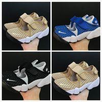 sandalias azules para niños al por mayor-2019 hot new Alta calidad niños niñas juvenil estudiante niño AIR RIFT shoes niños Ninja shoes azul negro sandalias deportivas al aire libre tamaño 25-35
