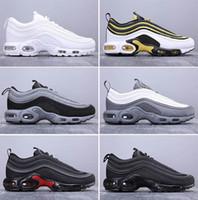 logotipos de zapatos para correr al por mayor-AHORA RECOMENDADO zapatos de baloncesto de calidad superior de moda para hombre Plus 97 para hombres, mujeres, atletas profesionales, zapatos de baloncesto con logo