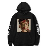 Wholesale for men standard clothing online - 2XS XL Shawn Mendes Hoodies Type Printed Long Sleeve Sweatshirts Colors Fashion Hoodie for Male Female Large Size Couple Clothes