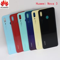 Wholesale Original Huawei Nova Back Glass Battery Cover Rear Door Housing Case Panel For Huawei Nova Back Glass Cover Replacement