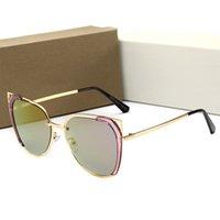piloto sunglasse al por mayor-Dior 22030 Hombres Attitude Pilot Sunglasses Gold Grey Len Vintage Sunglass Hombres diseñador sunglasse Gafas de sol de moda gafa de sol Gafas de sol Nueva ingenio