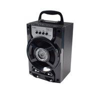 haut-parleurs bluetooth b13 achat en gros de-IHOO D-B13 LED haut-parleur portable sans fil Bluetooth avec interface MP3 USB AUX et radio FM basse extérieure pour Android Apple et PC