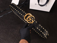 Wholesale womens leather jeans resale online - Italy Designer Brand Big Eyes Belts Fashion Mens Jeans Leather Belt Womens Dress Waist Straps Unisex Hip Hop Leisure Belt