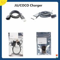 chargeur usb e fumée achat en gros de-Cigarette Magnétique Connexion USB Chargeur Câble De Charge Pour JU COCO 2 3 Portable Fumer Vape Pen Pod Kits