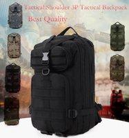 paquete de la cintura multifuncional al por mayor-Tactical Multi-funcional Mochilas militares al aire libre Bolsa de viaje de camuflaje Tactical Camping Waist Packs 900D Impermeable Oxford # JSH1507