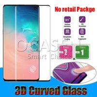 iphone 5s or pleine couverture achat en gros de-Verre Trempé Courbé 3D Pour Samsung Galaxy S8 S9 S10 5G Plus Note 8 9 S7 Edge Huawei P30 Pro