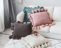ingrosso i cuscini del gatto di pusheen-Cuscino per divano casa creativo in lana nordica