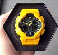 alarme de data venda por atacado-2019 2018 AAA Estilo Mens Relógios LED Homem Ao Ar Livre Relógio de Pulso Relógio de Pulso Militar Digital relógio reloj hombre Data Masculino Relógios de Alarme de Natação