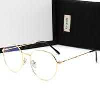 marcos gafas ligeras al por mayor-Gafas de lujo de los hombres Gafas de sol anti-azules Gafas ligeras con un marco completo de diseñador para hombres Mujeres Marca caliente