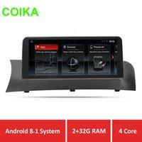 ingrosso bmw f25-COIKA Android 8.1 sistema dvd auto radoio per BMW X3 F25 X4 F26 2011-2013 sistema CIC touch screen navigazione auto BT phonelink IPS