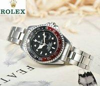 automatik männer beobachten porzellan großhandel-Luxusfrauen passt Männeruhren Markendesigner-Edelstahl-Armbanduhr auf Populäre Explosion automatisches rolexx Uhrqualität Bestes Geschenk