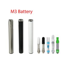 ingrosso batteria della penna del vape automatico-Batteria 350mAh M3 Batteria Ecig Penna automatica Buttonless per TH205 M6T 510 Serbatoio olio cartuccia Vape Pen