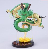 Wholesale shenlong dragon ball toys for sale - Group buy Anime Dragon Ball Z Shenlong Shenron With Balls Pvc Action Figure Collectible Model Toy Doll cm Kt098