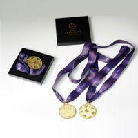 madalyalar ücretsiz gönderim toptan satış-Ücretsiz Kargo 2011 şampiyonu ligi final maçı madalya Meiss futbol fanatiği hediyelik eşya Barce Hayranları doğum günü hediyeleri koleksiyonu