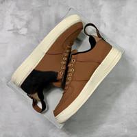 café bajo al por mayor-Carhartt WIP x Forzado 1 Bajo 07 Zapatos de skate Negro La más nueva moda superior Diseñador de la marca Para Hombre Mujeres Zapatos de baloncesto