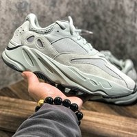 Wholesale shoe woman man online - 2019 Wave Runner V2 Mens Running Shoes Geode Static Mauve Salt Solid Grey Inertia Fashion Women Sports Sneakers Shoes With Box