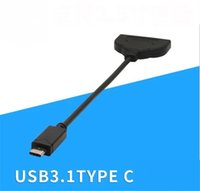 Wholesale hard disk adapter sata for sale - Group buy Type c usb c to sata converter usb type c to SATA Pin adapter cable For quot Disk hard drive sata ssd cable