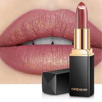 Wholesale bigger lips for sale - HANDAIYAN Glitter Lipstick Temperature Change Color Lip Stick Waterproof Shimmer Rouge a Levre Bigger Lips Tattoo Shiny Makeup