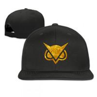 sombreros búho al por mayor-Vanoss Gaming Gold Owl Unisex Gorra ajustable Béisbol Deportes Sombrero para el sol Sombrero del Snapback Moda Hip Hop Sombreros ajustados Fresco