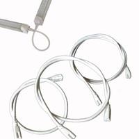 pin pies al por mayor-12 pies de largo cable 2 lados Pin 12 24 48 96 pulgadas Cable Conector T8 Conectores de tubos Tubos Enlace LED Cable de extensión