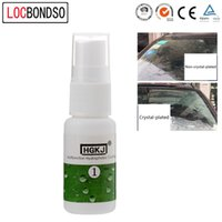 Wholesale nano coatings resale online - LocBondso ml Liquid Glass Nano Hydrophobic Ceramic Coating For Window Glass Fabric cloth shoes Waterproof Agent spray