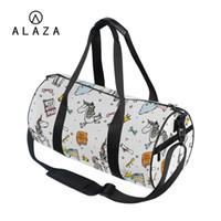 b92280d4ae3f ALAZA Cartoon Unicorn Crossbody Shoulder Bag For Girls 2019 Travel Book Bag  Large Storage Tote Handbag Custom Your Own Image