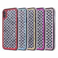 Wholesale rhinestones for cell phones online – custom Fish Scale Bling Diamond Soft TPU Case For Iphone XS Max XR XS X Plus Glitter Sparkle Luxury Shinny Colorful Cell Phone Cover Skin
