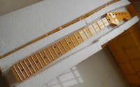 Wholesale guitars st yellow for sale - Group buy new ST electric guitar neck fret in Yellow maple wood