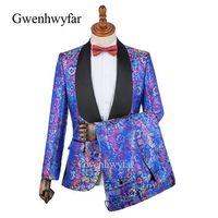 özel blazerler erkek toptan satış-2018 Kostüm Homme Custom Made Özel Durum Erkekler Suit s erkek Blazers Damat Smokin Gelinlik Balo Suits Bridegrom