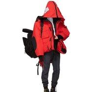 17ß VETEMENTS X C Männer Frauen Gans lang hinunter Mäntel Männer Expedition Parka Schwarz Rot Schweden Norwegen Daunenjacke Art und Weise Outwear