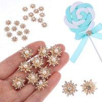 100 × Schneeflocke Flatback Perle Verzierungen Weihnachten Handwerk DIY CB