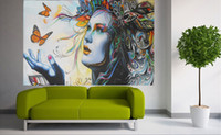 Wholesale australia animal for sale - Group buy Australia Painting urban butterfly STREET ART Home Decor Handpainted HD Print Oil Paintings On Canvas Wall Art