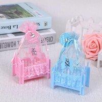 ingrosso imballaggio di biancheria-New Wedding box creativo baby bed modelling packaging zucchero sacchetto regalo di nozze candy bag Holiday confezione regalo