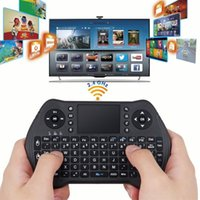 поддержка клавиатуры bluetooth оптовых-Mini Wireless Bluetooth Keyboard MT10 2.4G Backlit Touchpad Air Mouse Support Android for Android Smart TV Box #T8