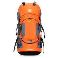 Wholesale backpack professional for sale - Group buy Professional L Waterproof Hiking Backpack Climbing Camping Hiking Backpack Mountaineering Bag Outdoor Bag with Rain Cover
