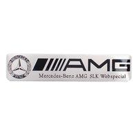 arabalar için rozetleri toptan satış-Araba Styling Araç Gövde Metal Etiket Oto Arka Bagaj 3D Rozet Amblem Mercedes W203 w204 sls için glk w124 w168 G500 s320