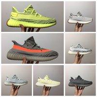 ingrosso donne v2 gratuite-adidas Yeezy Boost 350 V2 V1 Originali Kanye West-35 v2 scarpe da corsa uomo donna economici 2017 nuove sneakers di alta qualità per la vendita Spedizione gratuita