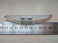 pequeños cuerpos de señuelos al por mayor-10 unids sin pintar en blanco señuelo cuerpo Twitch señuelo de la pesca 110 mm 9 g Minnow Bend Body Style morir como muskie cebo