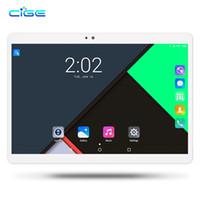 pc wifi al por mayor-CIGE Original MediaPad 10.1 pulgadas Tablet PC Android 7.0 Octa Core 4GB RAM 64GB ROM Doble cámara Tarjeta SIM WIFI GPS BTHTablet 10