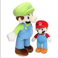 mudkip plüsch puppe großhandel-25cm 35cm 40cm Super Mario Bros Plüschtier Mario und Luigi Kuscheltiere Plüschtiere für Geschenke