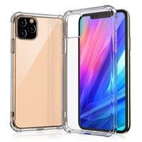 Wholesale iphone case high quality transparent for sale – best For iPhone Pro Max Transparent TPU Shockproof Phone Case MM High Quality Cases for Samsung Note S10 S10e