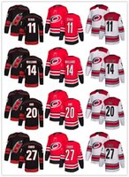 Wholesale nhl jerseys shipping for sale - Group buy Cheap Men Women Youth Stitched NHL Jersey Carolina Hurricanes Black Alternate Red Home White Road Ice Hockey Jersey
