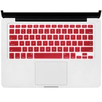dizüstü bilgisayarlar için silikon kılıflar toptan satış-Elma laptop klavye filmi MacBook klavye koruma filmi silikon klavye renk filminin 2019 için Moda Lüks Tasarımcı