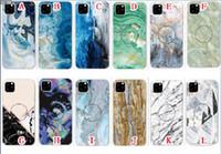 iphone 5s marmor fall großhandel-Marmor stein weichen tpu pop halter case für iphone 11 pro max 2019 5,8 6,1 6,5 zoll xr x xs max 8 7 6 6 s plus 5 5 s se ständer haut abdeckung 100 stücke