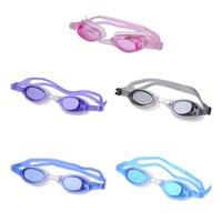 gläser zubehör für kinder großhandel-Kinder Anti-Fog Schwimmbrille Wasser Brille Schwimmen Brillen Kinder Uv Anti-Fog Schwimmbad Zubehör