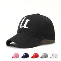u шляпы оптовых-Вышивка письмо U бейсболка мужчины открытый Cap Спорт бейсболки женщины досуг защита от Солнца Hat LJJR170
