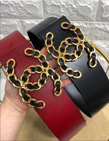 correa negra sombreros de espalda al por mayor-El gran cinturón Novedad Moda Venta al por mayor y cinturones de cuero para mujeres, cinturones de calidad diseñador internacional marca 2019 Cinturones