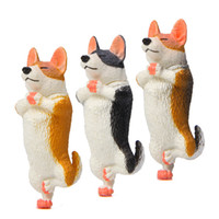 Wholesale toy husky dogs for sale - Group buy Yoga master dog PVC Mini Action Figure cartoon Doll figurines Toy Christmas Home decorations toys Koki Husky dog doll